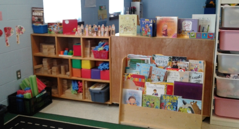 Books and toys at the Centre