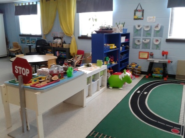 Child care facilities at Start SMART